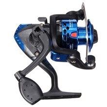 Kunststoff Blau 3BB 5:2:1 Fliegenfischen Und Locken 200 Angelrolle Angelausrüstung Werkzeuge
