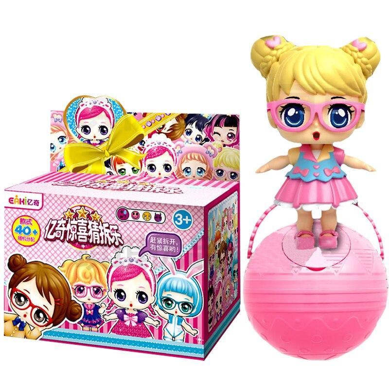 EKAI lol puppe DIY kinder spielzeug puppe mit kleidung und schuhe zwei größe für sie zu wählen geben ein geschenk für kinder