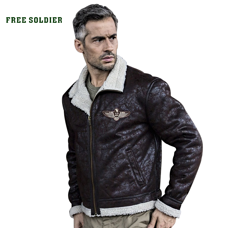 FREE SOLDIER outdoor sports tactical military uniform Flight jacket men bomber pilot jacket for camping hiking free soldier outdoor sports tactical polarized glass men s shooting glasses airsoft glasses myopia for camping