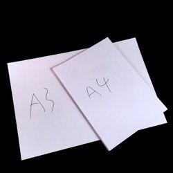 Бесплатная доставка A4 & A3 белая копировальная бумага 80 г 70 г чистая древесная целлюлозная бумага для печати канцелярские принадлежности коп...