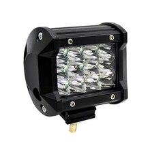 hot deal buy 36w 4 inch car lights led bar work light bar offroad motorcycle foglights spotlight for boats atv utv suv pickuptruck