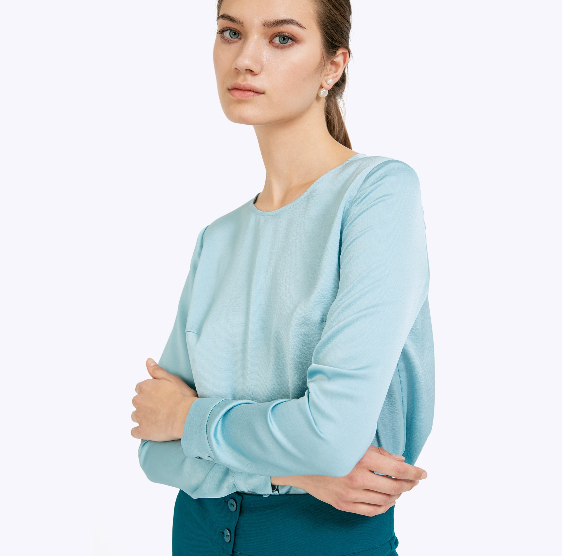 все цены на Blouse with long sleeve