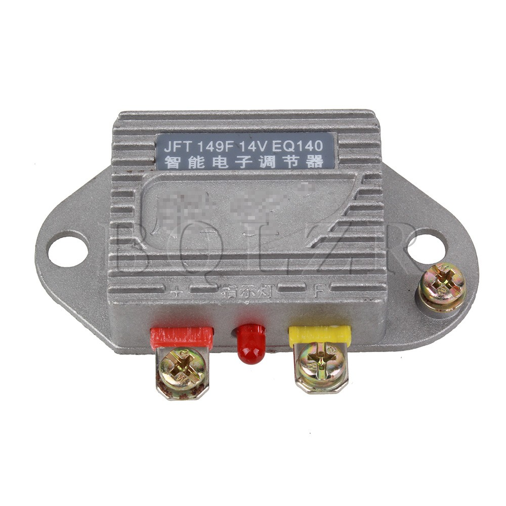 BQLZR Silver Smart Electronic Generator Regulator 14V 1000W Stability Voltage For Car Automobile
