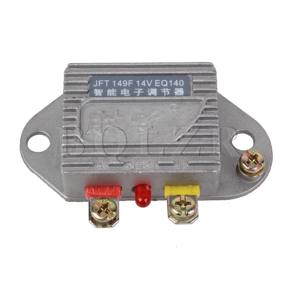 BQLZR Silver Smart Electronic Generator Regulator 14V 1000W Stability Voltage For Car Automobile