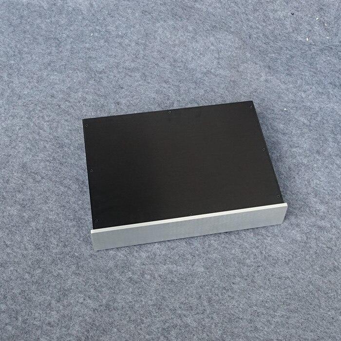 BZ4308A professionnel en alliage d'aluminium profil en aluminium châssis préamplificateur boîtier amplificateur boîte Audio bricolage Shell 430 MM * 82 MM * 308 MM
