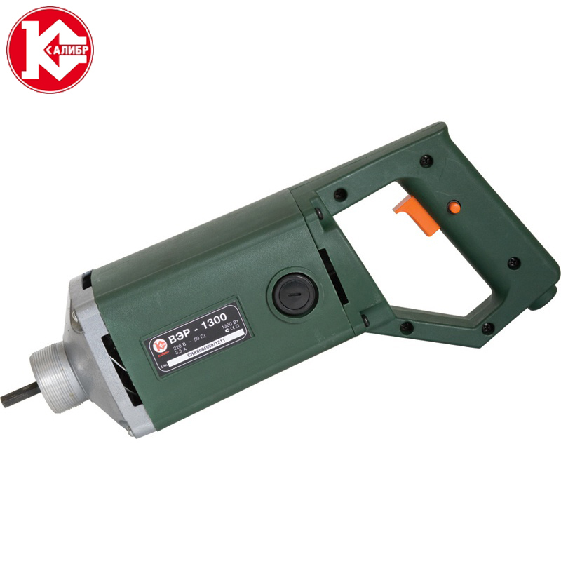 Kalibr VER-1300 Vibrator 1300W Plug-In Vibrator for Building Industry