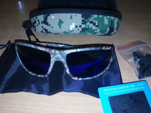 6271c0128e40 Camouflage Polarized Fishing Glasses - The Fishing Depo