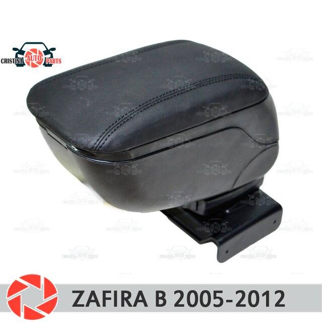 Для Opel Zafira B 2005-2012 автомобильный подлокотник центральная консоль кожаный ящик для хранения Пепельница аксессуары автомобильный Стайлинг