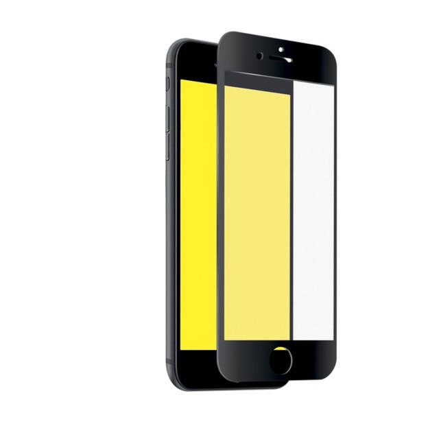 Защитное стекло 2.5D Full Screen для iPhone 8 Plus/7 Plus, черная рамка, SBS