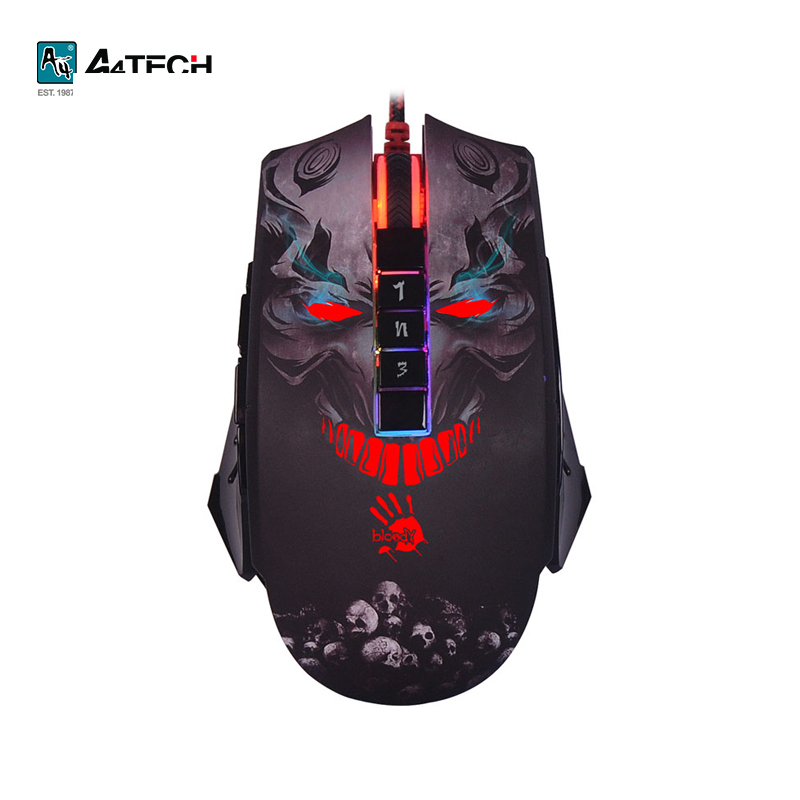 Gaming mouse A4Tech Bloody P85 Officeacc gaming keyboard a4tech bloody b254 officeacc