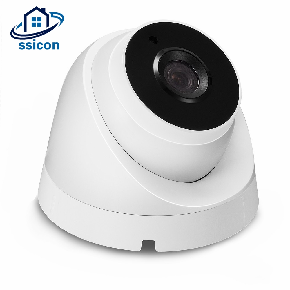 SSICON Night Vision ONVIF Network IP Camera 960P 1080P Home Dome Video Camera 20M IR Distance with 2Pcs Array IR LedsSSICON Night Vision ONVIF Network IP Camera 960P 1080P Home Dome Video Camera 20M IR Distance with 2Pcs Array IR Leds