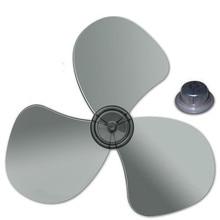 1pcs Big wind 16 inch 400mm plastic fan blade