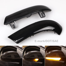For VW GOLF 5 GTI Jetta MK5 Passat B5.5 B6 Sharan Superb LED Dynamic Turn Signal Blinker Sequential Side Mirror Indicator Light(China)