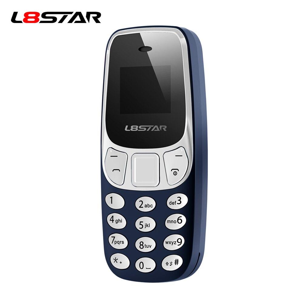 L8STAR BM10 Wireless Bluetooth Earphone Dialer cellphone hand-free Headset Dual SIM Card Mini Mobile phone Earphone with Mic