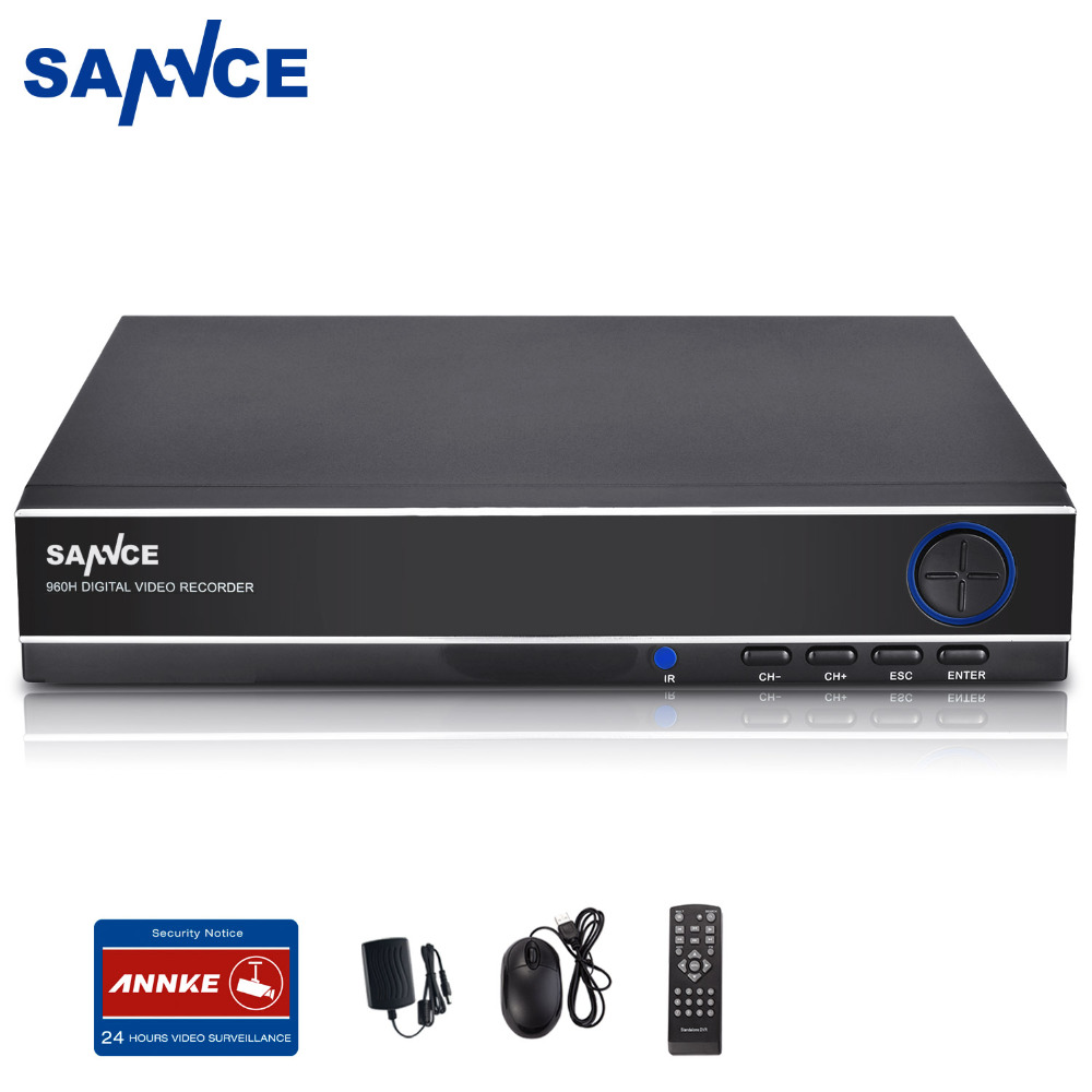SANNCE 8CH Channel Digital Video Recorder 960H HDMI DVR For Security CCTV Camera 8 channel digital responder parts