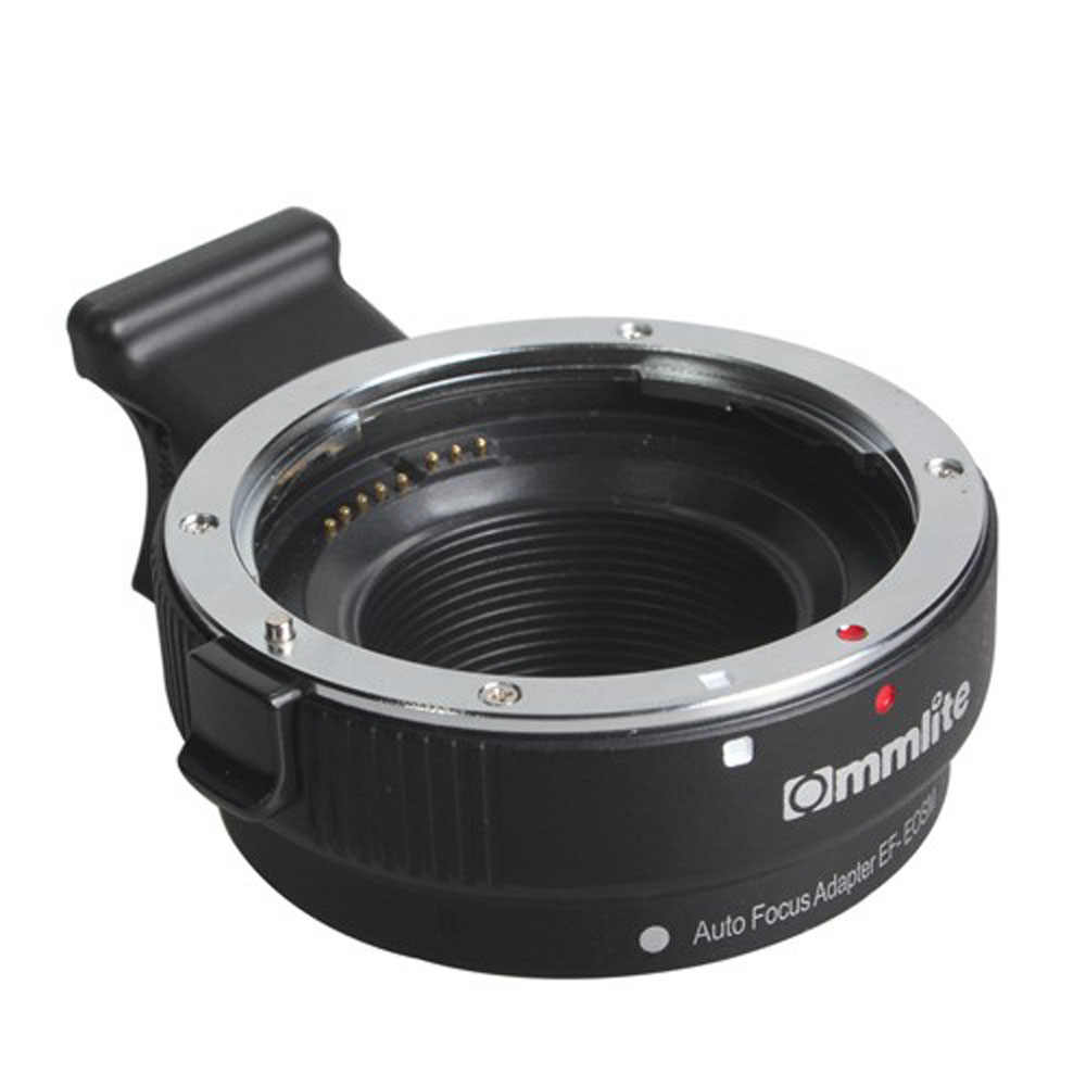 Commlite EF-EOSM адаптер объектива с электронным автофокусом для Canon EOS EF EF-S объектив EOS M EF-M M2 M3 M5 M6 M10 M50 M100 Камера