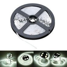 LED Strip Light 5m 300LEDs /m Single Color 3528SMD Flexible Tape 12V Power Supply 2A,White/Warm White Free Shipping
