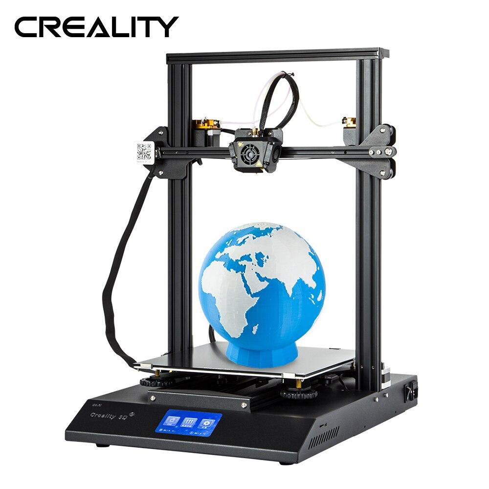 Mais recente Impressora Creality 3D CR-X Dual Color 4.3-polegada Tela de Toque Colorida 3D Impressora Com Duas Extrusoras de Um Bocal