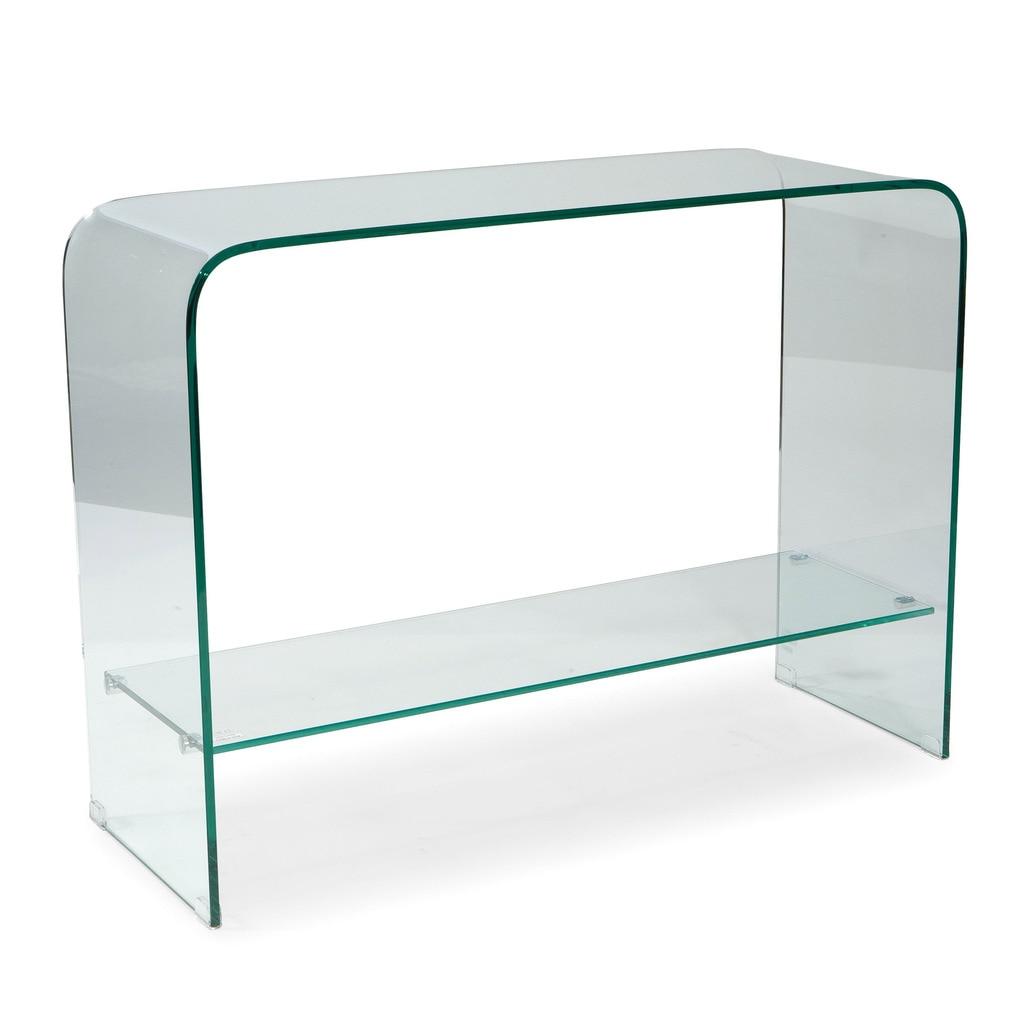 SONO CONSOLE TABLE GLASS [nel mare ci sono coccodrilli]