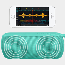 Fashion Portable Outdoor Bluetooth Music Stereo TF Card USB FM Radio Speaker