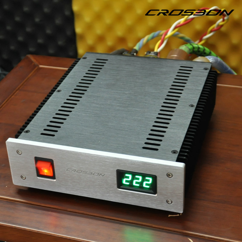Dual Independente Audio Power Filtro Purificador de fonte de Alimentação do Sistema de Som Novo