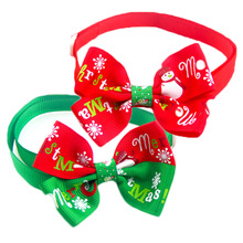 Hot Sales  Cats Dog Tie Wedding Accessories Dogs Bowtie Collar Holiday Decoration Christmas Grooming Pet Supplies