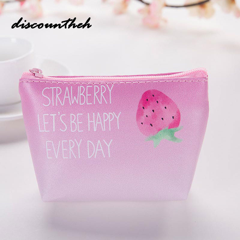 Cute Girls PU coins purse Small Mini Coin Purse Change Wallet Purse Women Key Wallet Coin Bag Children Kids Gifts