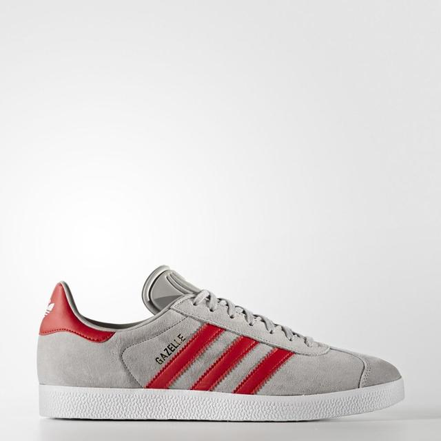 various colors 87cd9 13126 Sneakers BB5257 adidas original gazelle GREY and Red Man