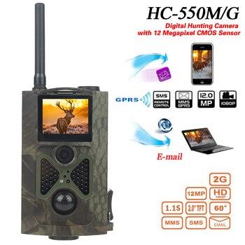 Skatolly HC550M อินฟราเรด Trail กล้อง 12MP 1080 P gsm mms Night Vision ป่ากับดักล่าสัตว์กล้อง chasse scout