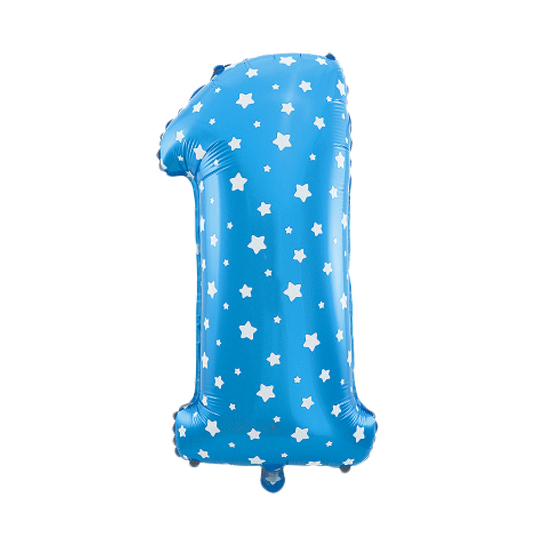 uxcell 16 blue foil number 1 shape balloon helium party birthday wedding anniversary festival decor