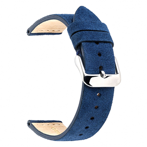 Image 3 - EACHE 18mm 20mm 22mm Watchband 100%  Suede Leather Watch Strap  for men women Watch bands