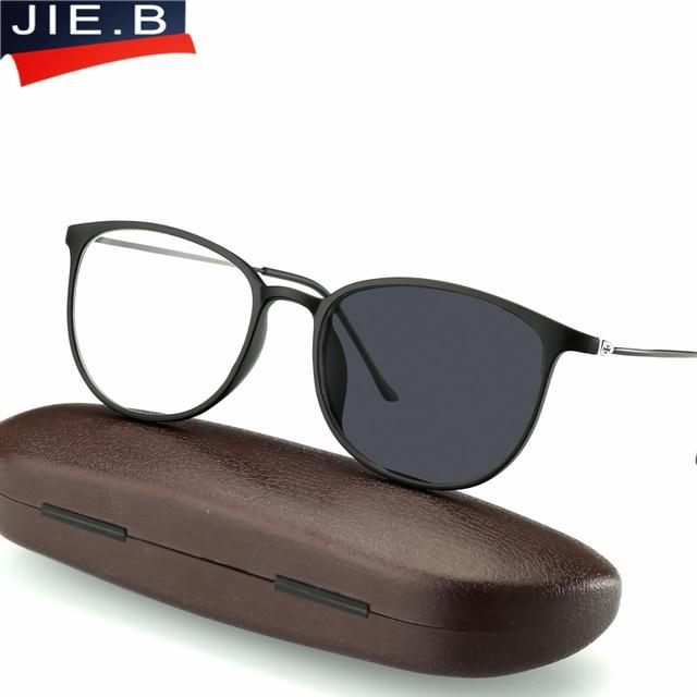 Anti UV reflektierende Übergang Sonne Photochrome Lesebrille Frauen Ultra Licht TR90 Rahmen Presbyopie Brillen für Männer