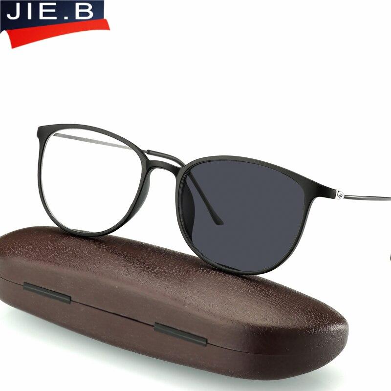 Óculos de leitura fotocrômicos de transição anti uv óculos de leitura feminino ultra leve tr90 frame presbiopia para homem-in Óculos de leitura from Acessórios da Moda on AliExpress