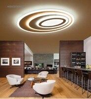 Einfache moderne wohnzimmer lichter oval kreative halle home decke lampen personalisierte führte master schlafzimmer lichter Decke lichter