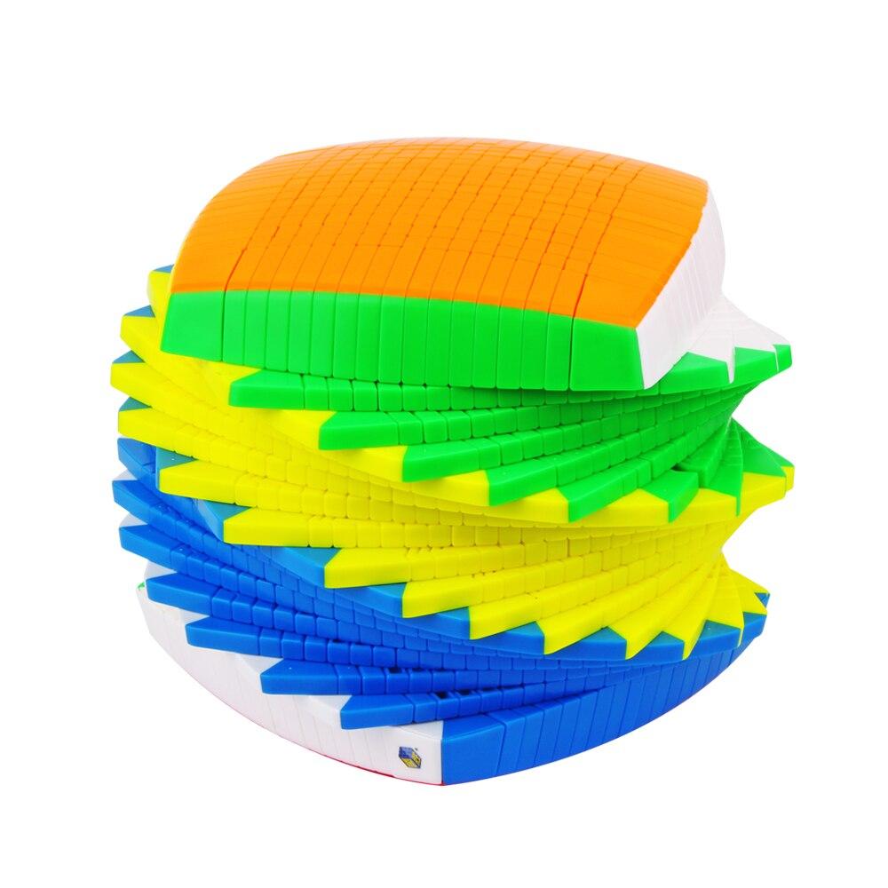 Nuevo Yuxin Huanglong 17x17 Cubo Zhisheng Cubo de velocidad rompecabezas Twist 17x17 Cubo Magico aprendizaje juguetes Educativos Magic DropShipping-in Cubos mágicos from Juguetes y pasatiempos    1