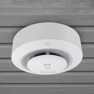Image 5 - Xiaomi Mijia Honeywell Smoke fire sensor Alarm Detector Audible Visual Smoke Sensor Remote Mi Home Smart APP Control
