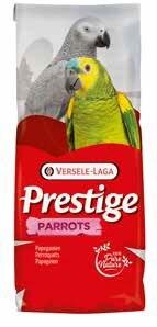 Mixtura для Amazon в виде попугаев из VERSELE LAGA Мега фруктов 15 кг