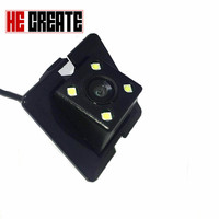 HE CREATE HD CCD 4 LEDS Night Vision Car Rear View Backup Camera For Toyota Prado
