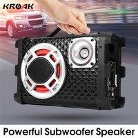 5 Inch Car Subwoofer Speakers 12V 24V 220V High Power 120W Universal Active Subwoofer Car Audio