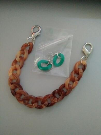 MM FOND 25cm jelly color women transparent acrylic bag strap easy matching lady shoulder bag belts 1.5cm*2cm handbag belts A303 photo review