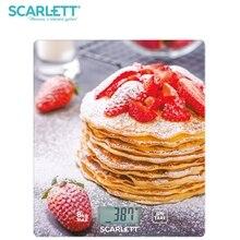 Весы кухонные электронные Scarlett SC-KS57P34