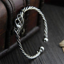 Bangle Twisted Cable Wire Bracelet Antique Bangles Ball Fashion Designer Brand Vintage Christmas Gifts Womens Cuff Bracelet