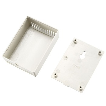 uxcell Plastic Dustproof Cover Electronic Project Instrument Enclosure DIY Box Case Junction Housing 75x55x28mm White