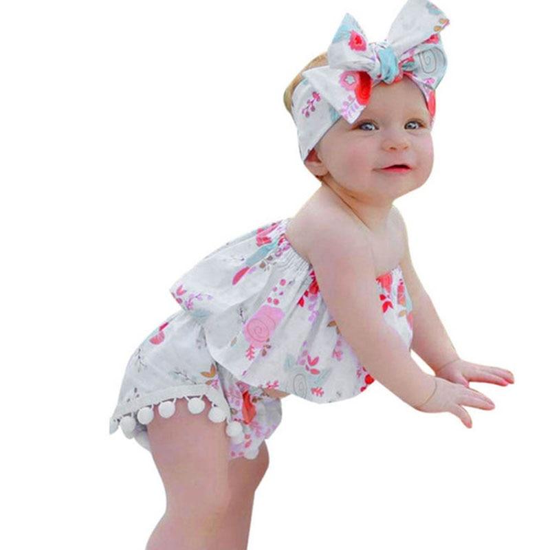 9324b0d393c8 Βρεφικά καλοκαιρινά αγόρια Κορίτσια Ρούχα για κορίτσια Νεογέννητα ...