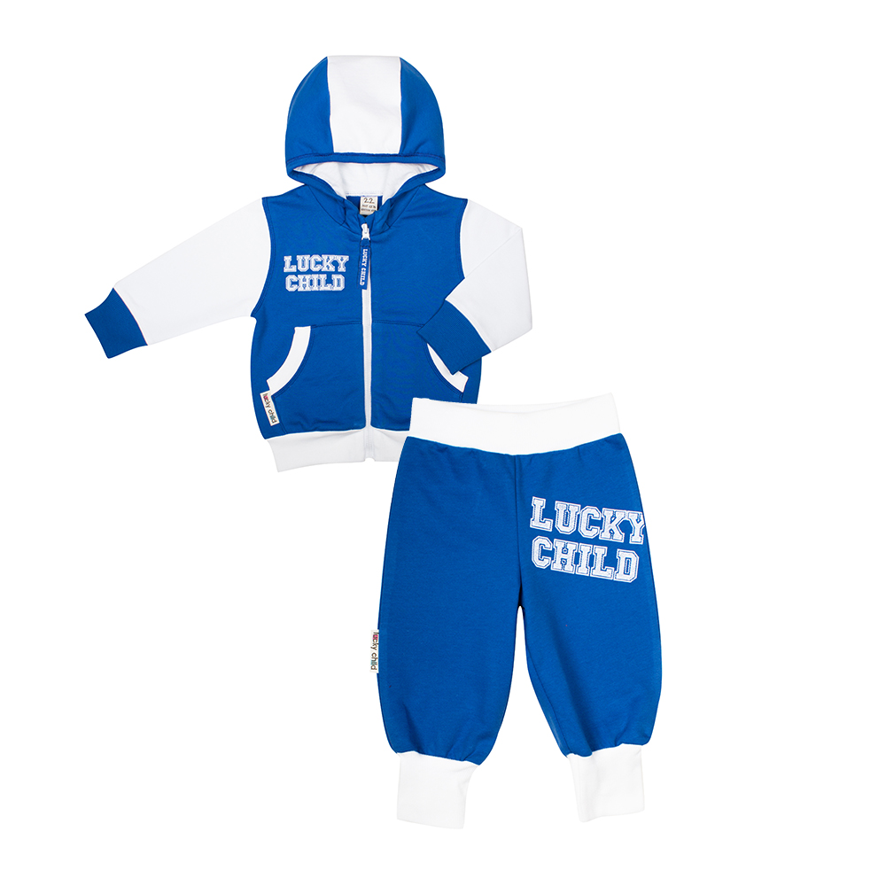 Children's Sets Lucky Child for boys 8-4 Kids clothes Sports suit Children clothing Costumes Baby christmas kids clothing sets 100