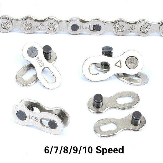 1 пара велосипед Сеть Magic Коннектор с креплением горный велосипед соединитель для цепи для 6/7/8/9/10 Скорость Быстрый переход инструмент для ремонта