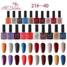 M.Ladea 140 colores UV gel esmalte de uñas UV LED gel esmalte de uñas 8.3ML esmalte de uñas laca de larga duración Gel remojo barniz
