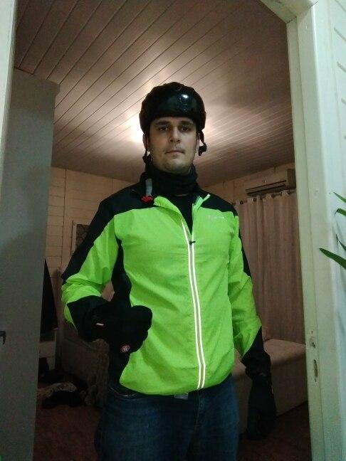 ROCKBROS Jacket Cycling Wind Jacket Bike Raincoat Cycling Rain Coat Jersey Bicycle Rainproof  Windproof Quick Dry Coat