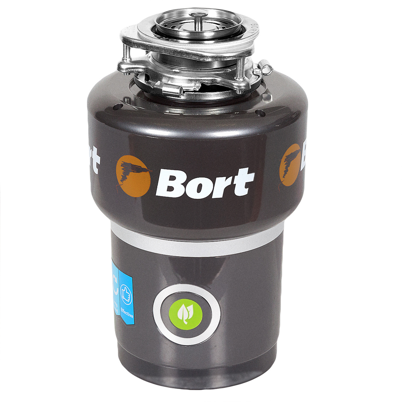 Chopper food waste disposer Bort TITAN 5000 (Control) 3 stage grinding, power 560 W, remote control