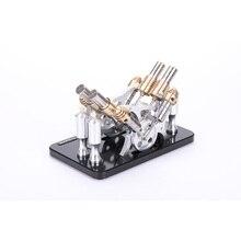 Stirling engine model steam engine model V4, teaching model stirling engine model